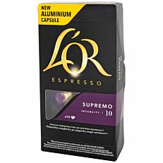 Καφές L'OR espresso supremo σε κάψουλες (10x5,2g)