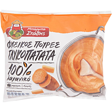 Πουρές γλυκοπατάτας ΜΠΑΡΜΠΑ ΣΤΑΘΗΣ κατεψυγμένος (600g)