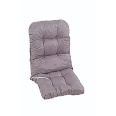 Μαξιλάρι τύπου μπαμπού, μονό γκρι Νο. 16 112x55x10cm