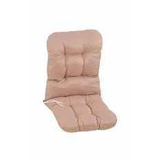 Μαξιλάρι τύπου μπαμπού, μονό μπεζ Νο. 16 112x55x10cm