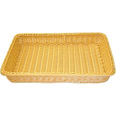Ψωμιέρα Rattan ορθογώνια 45x31x6(Y)cm