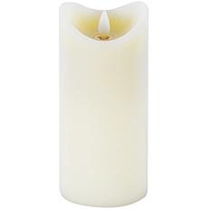 Κερί LED κινούμενη φλόγα ιβουάρ 0,09W 9,2x22,7cm