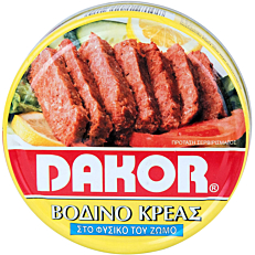 Κονσέρβα DAKOR corned beef (200g)