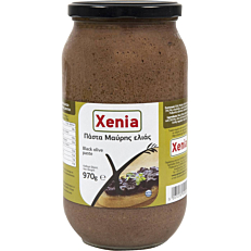 Πάστα ελιάς XENIA μαύρη (970g)