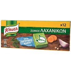 Ζωμός KNORR λαχανικών με 25% λιγότερο αλάτι (6lt)