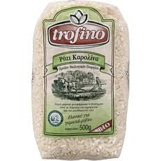Ρύζι TROFINO καρολίνα βιολογικό (bio) (500g)