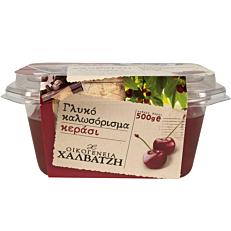 Γλυκό του κουταλιού ΟΙΚΟΓΕΝΕΙΑ ΧΑΛΒΑΤΖΗ κεράσι (500g)