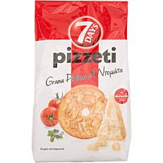 Αρτοσκεύασμα 7DAYS pizzeti grana padano & ντομάτα (80g)