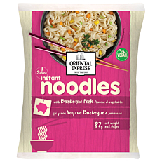 Noodles ORIENTAL EXPRESS χοιρινό και barbeque 3' (87g)