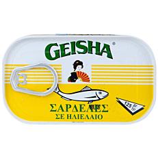 Κονσέρβα GEISHA σαρδέλες σε ηλιέλαιο (125g)