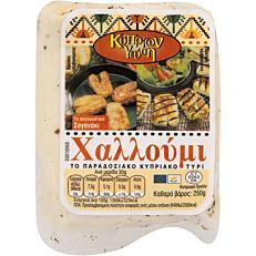 Τυρί ΚΥΠΡΙΩΝ ΓΕΥΣΗ χαλλούμι (250g)