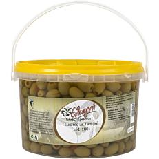 Ελιές ΕΛΙΑΓΝΗ πράσινες με πιπεριά 161-180 (3kg)