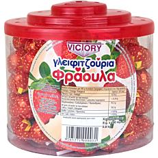 Γλειφιτζούρι VICTORY φράουλα (100g)