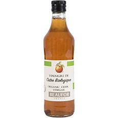 Ξύδι BEAUFOR με μήλο βιολογικό (bio) (500ml)