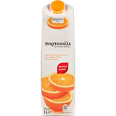 Φυσικός χυμός ΜΑΡΑΤΑ πορτοκάλι (1lt)