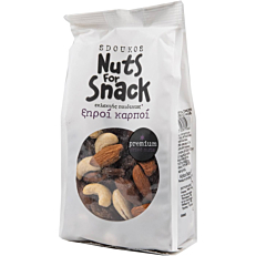 Ξηροί καρποί SDOUKOS Nuts For Snack ανάμεικτοι ωμοί με κράνμπερι και σταφίδες (200g)