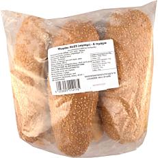 Αρτοσκεύασμα για σάντουιτς ΑΛΕΞΑΚΗΣ με σησάμι κατεψυγμένο (6τεμ.)