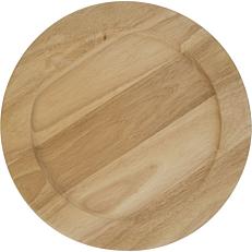 Ξύλινα πιάτα PW. 008 Φ33cm