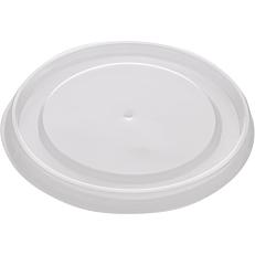 Καπάκια PS διαφανή για μπολ χάρτινα 470ml (50τεμ.)