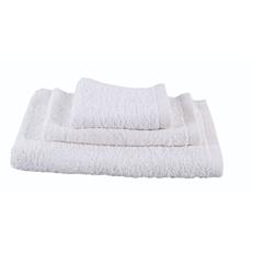 Πετσέτα RESORT LINE σώματος 100% βαμβακερή λευκή 70x140cm
