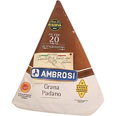 Τυρί AMBROSI grana padano εικοσάμηνης ωρίμανσης (~2kg)