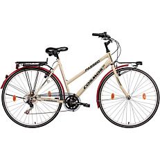 """Ποδήλατο COSMOS PASSEO CITY 28"""" 6 ταχύτητες αντρικό μαύρο"""