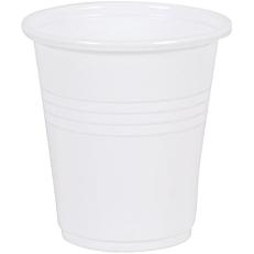 Ποτήρια RIVA CLASSICS πλαστικά PP λευκά 100ml (6x50τεμ.)