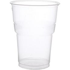 Ποτήρια MELODY TIME πλαστικά PP διαφανή 250ml (2x25τεμ.)