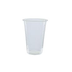 Ποτήρια πλαστικά PP διαφανή 250ml (100τεμ.)