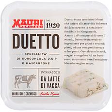 Τυρί DUETO από γκοργκουζόλα και μασκαρπόνε (150g)