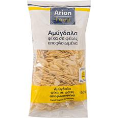 Αμύγδαλα ARION FOOD ψίχα, σε φέτες (150g)