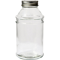 Βάζο με βιδωτό καπάκι 500ml