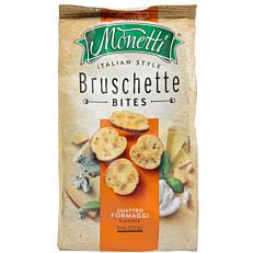 Παξιμαδάκια MONETTI Bruschette τυριά (70g)