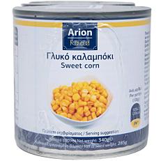 Κονσέρβα ARION FOOD καλαμπόκι σε κόκκους (3x340g)