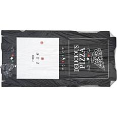 Κουτιά πίτσας microwelle Delicious μαύρο 30x4,2cm (50τεμ.)