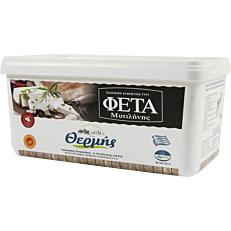 Τυρί ΣΑΝΤΖΗΛΙΩΤΗΣ φέτα Μυτιλήνης (~2kg)