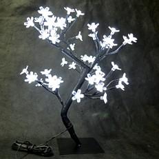 Χριστουγεννιάτικο δέντρο φωτιζόμενο, 48 led με ψυχρό φως 45cm