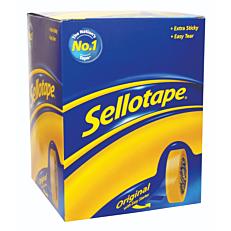 Κολλητική ταινία sellotape 18x66 (7+1τεμ.)