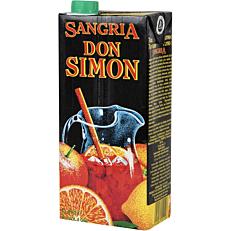 Οίνος ερυθρός DON SIMON sangria ημίγλυκος (1lt)