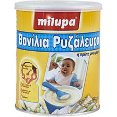 Παιδική κρέμα MILUPA βανίλια με ρυζάλευρο