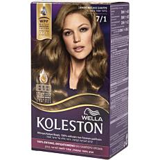Βαφή μαλλιών WELLA Koleston ξανθό μεσαίο σαντρέ no.7/1 με κρέμα αναζωογόνησης χρώματος (50ml)