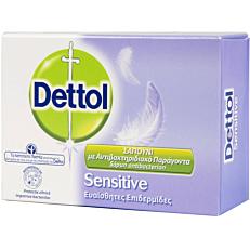 Σαπούνι DETTOL Sensitive πλάκα (100g)
