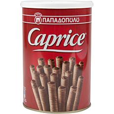 Πουράκια ΠΑΠΑΔΟΠΟΥΛΟΥ Caprice με κρέμα φουντούκι και κακάο (400g)
