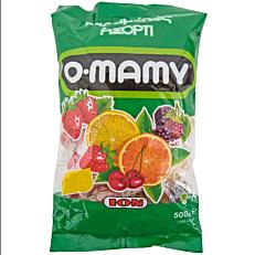 Καραμέλες ΙΟΝ O-MAMY ασορτί (500g)
