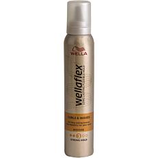 Αφρός μαλλιών WELLAFLEX για μπούκλες (200ml)