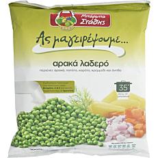 Αρακάς ΜΠΑΡΜΠΑ ΣΤΑΘΗΣ λαδερός κατεψυγμένος (1kg)