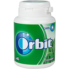 Τσίχλες ORBIT Spearmint (64g)