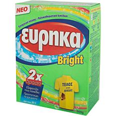 Ενισχυτικό πλύσης ΕΥΡΗΚΑ Bright σε σκόνη (500g)