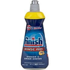 Απορρυπαντικό FINISH πλυντηρίου πιάτων λεμόνι για λάμψη και προστασία, υγρό (400ml)