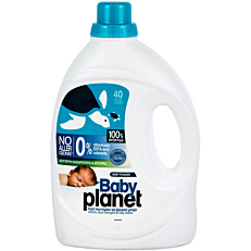 Απορρυπαντικό MY PLANET Baby πλυντηρίου για βρεφικά ρούχα, υγρό (40μεζ.)